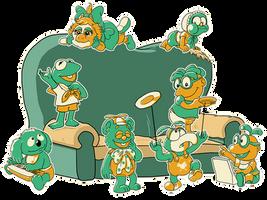 Muppet Babies by Escopeto