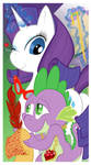 MLP - Spike and Rarity