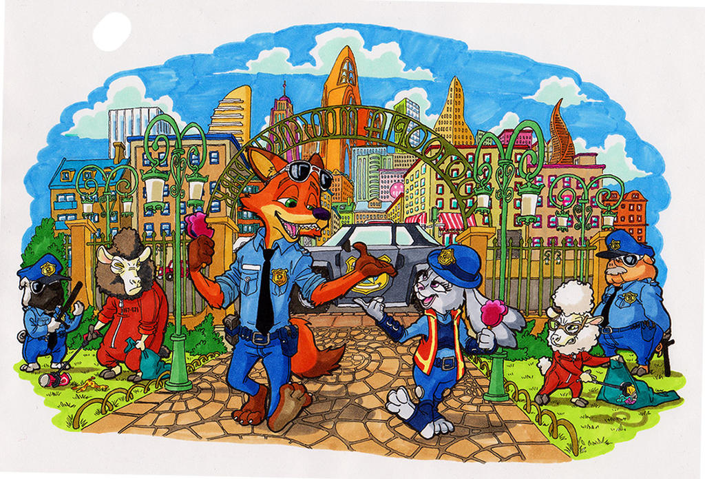 Just another Zootopia Fanart by Escopeto