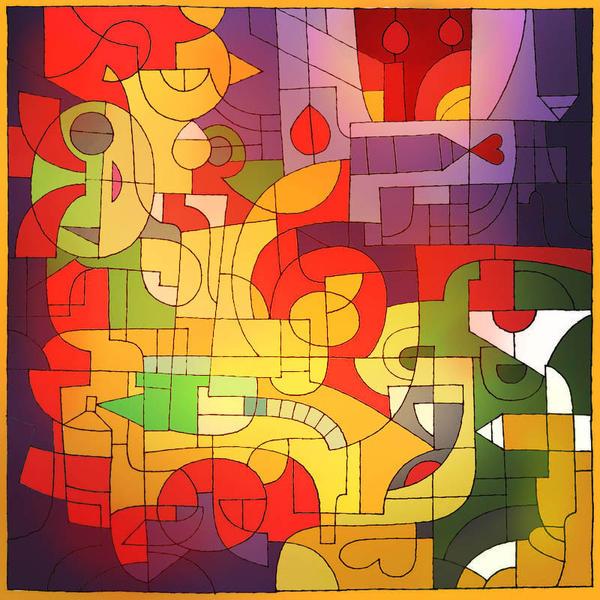 Kubistic King Dad by Escopeto