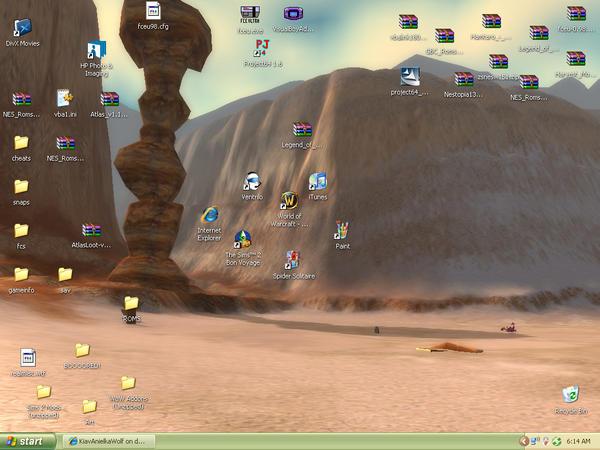 New Desktop by TheInsaneBestFriend