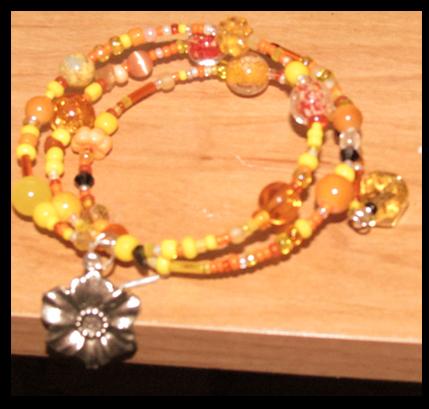 The Bright sun: bracelet by Hime-kurodia