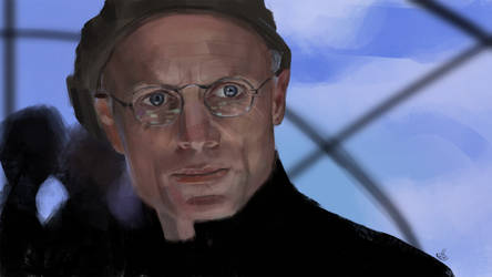Daily study 41 - the Truman Show (Christof) by deerbard