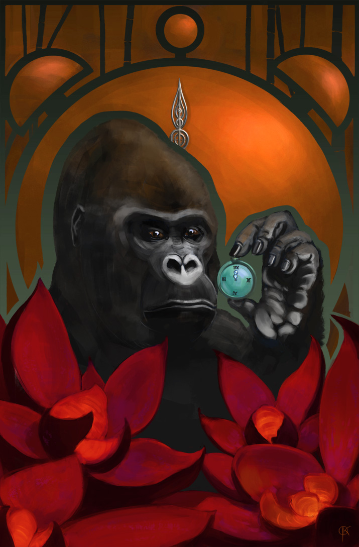 About time - Gorilla by deerbard