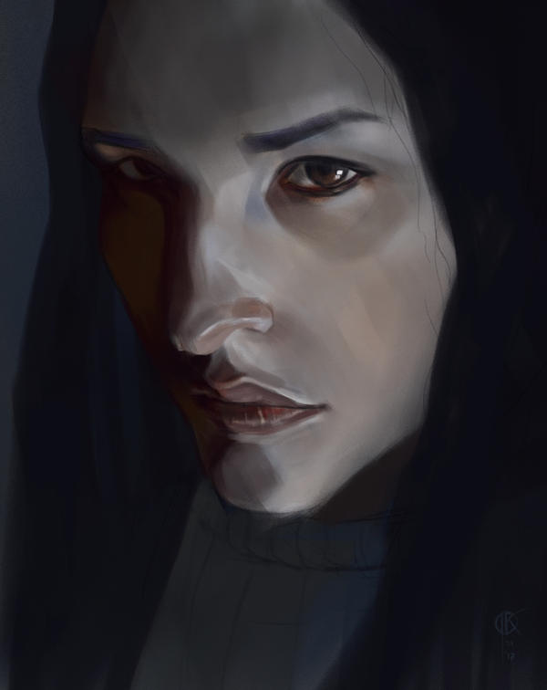 Otoimai face study by deerbard