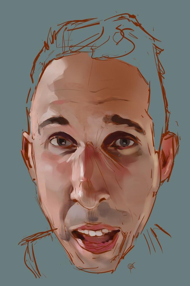 Jake Parker sketch by deerbard