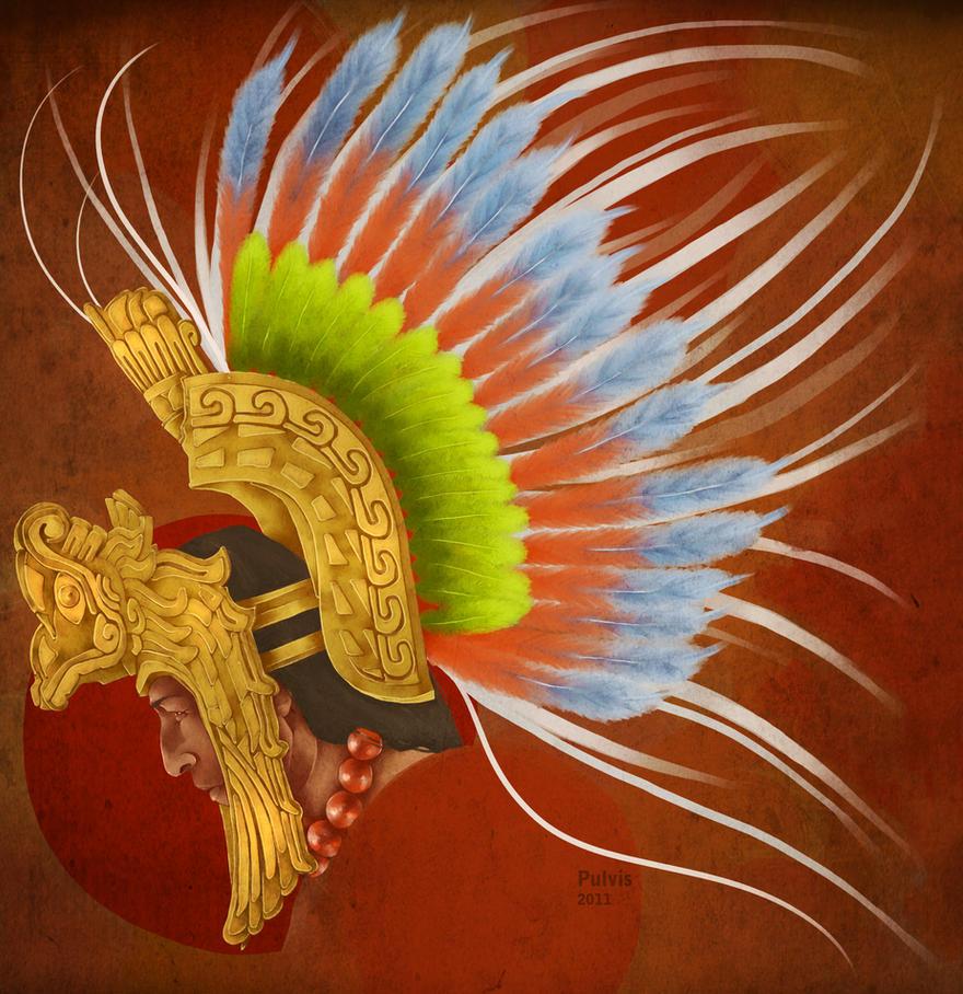 Mayan Warrior Headdress Aztec Eagle Warrior Headdress
