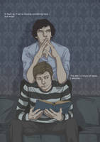 Sherlock and John by Pulvis
