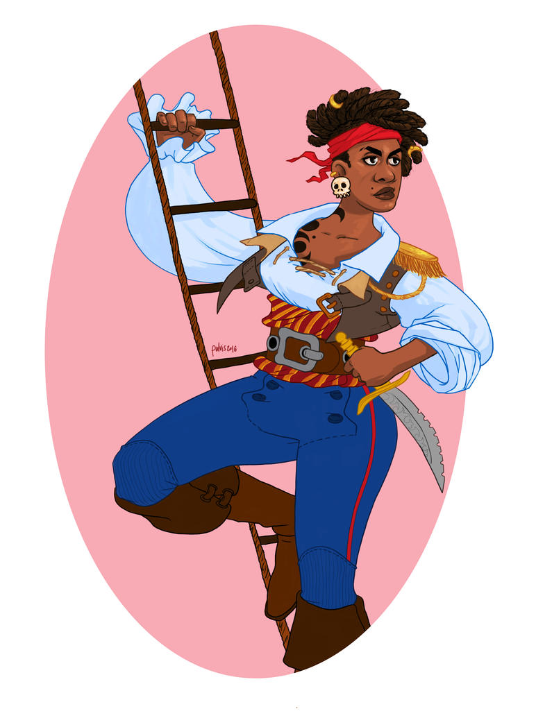 Pirate Lady by Pulvis