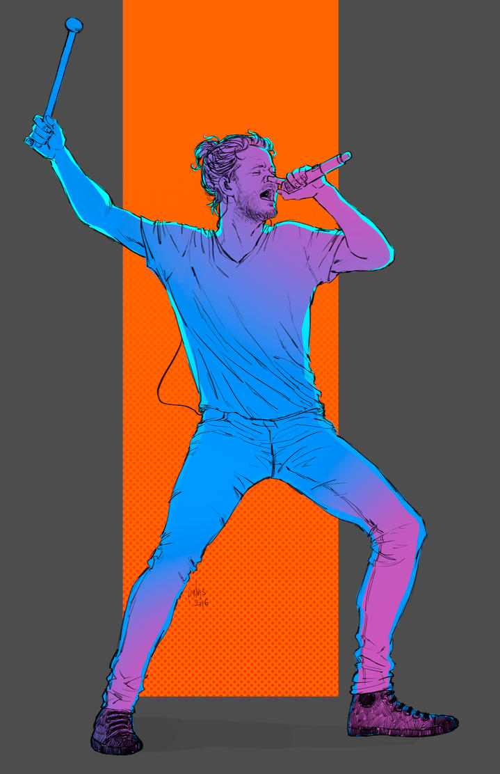 Imagine Dragons sketch by Pulvis