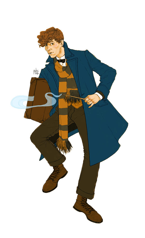 Newt Scamander by Pulvis