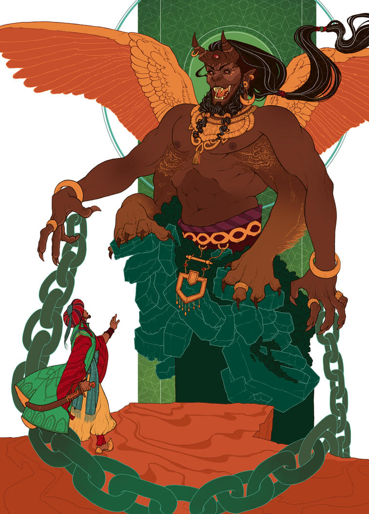 Djinn Ifrit ~The City of Brass~ by Pulvis