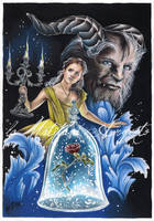 Beauty and the Beast 2017 by laMatitadArgento