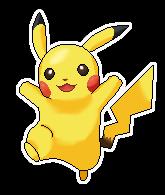 Pikachu Pixel Over by Pikaweed