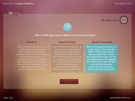 Impulse CodeQuiz - Test your knowledge