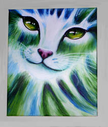 Cat eyes GREEN by Roxo89