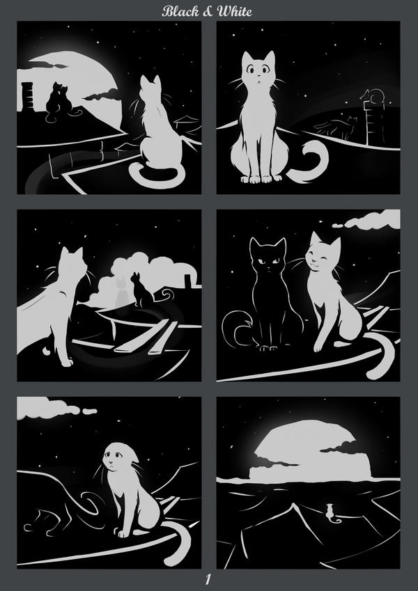 Black and White - Page 1 by Roxo89