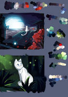 Colors test animation scenes by Roxo89