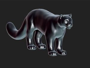 Big Kitteh 3D WIP