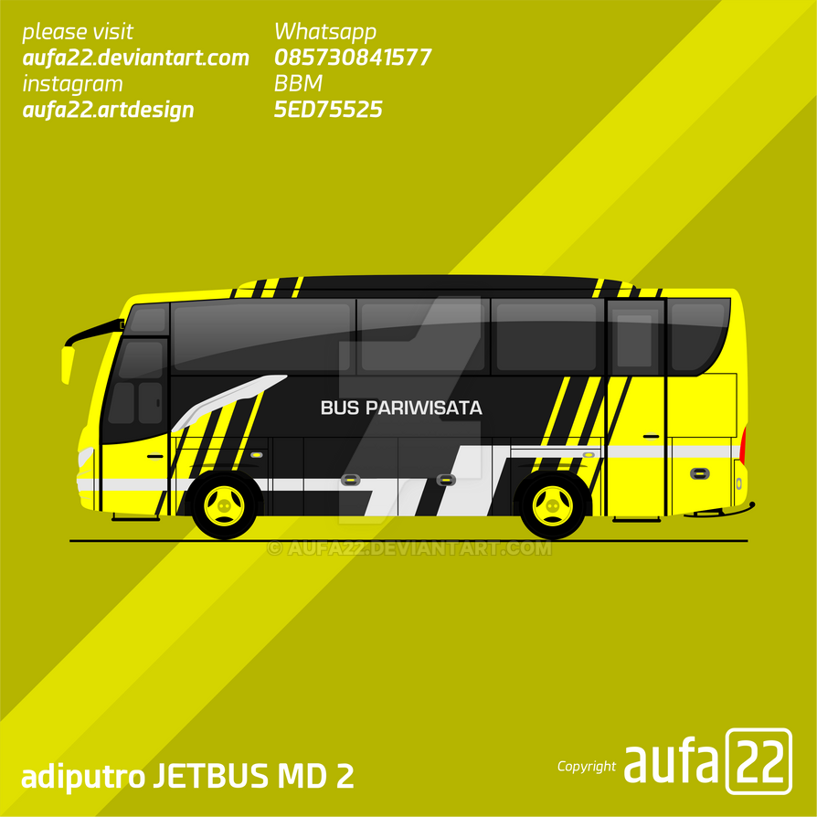 Adiputro Jetbus Md 005 By Aufa22 On Deviantart