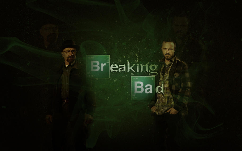 breaking bad wallpaperposter by xxdeviouspixelxx on