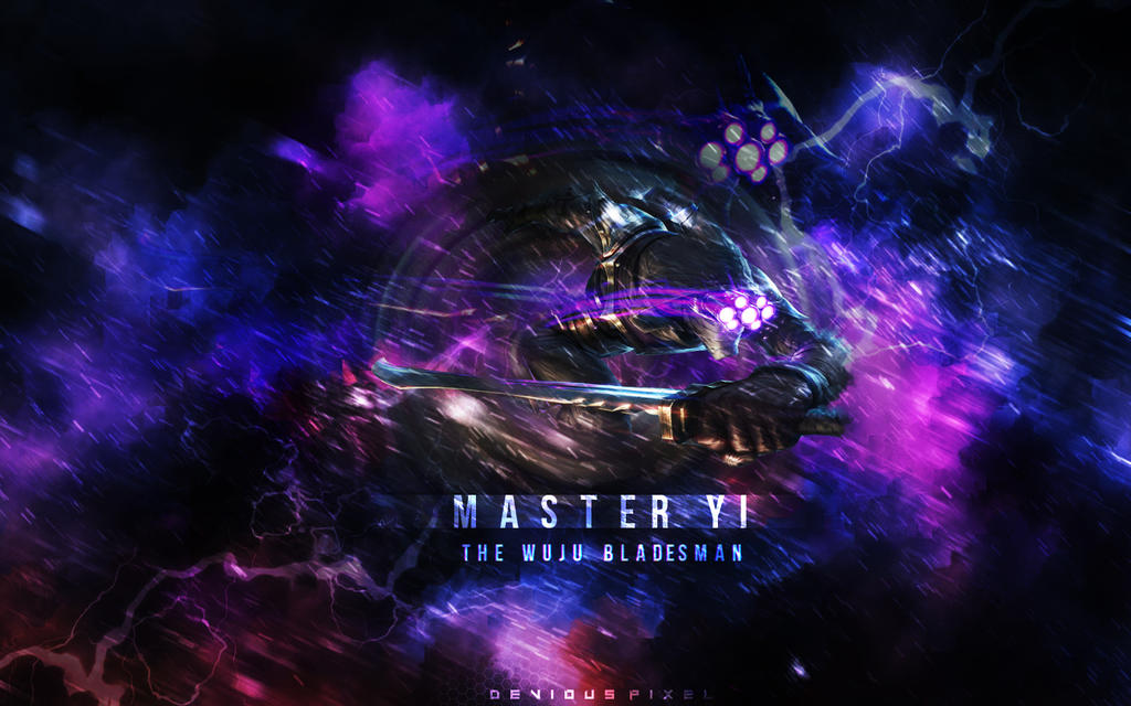 LoL Master Yi Wallpaper By XXDeviousPixelXx