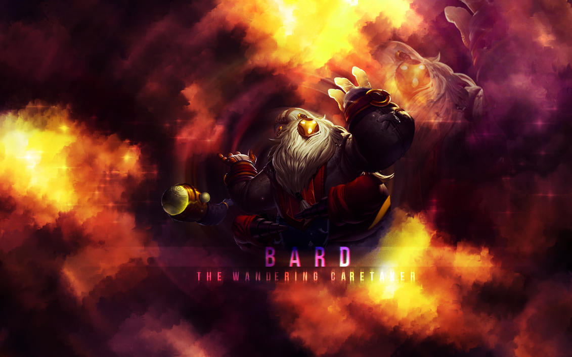 lol bard wallpaper new by xxdeviouspixelxx on deviantart