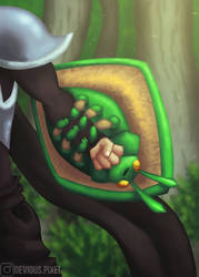 Beetle Shield - Commission