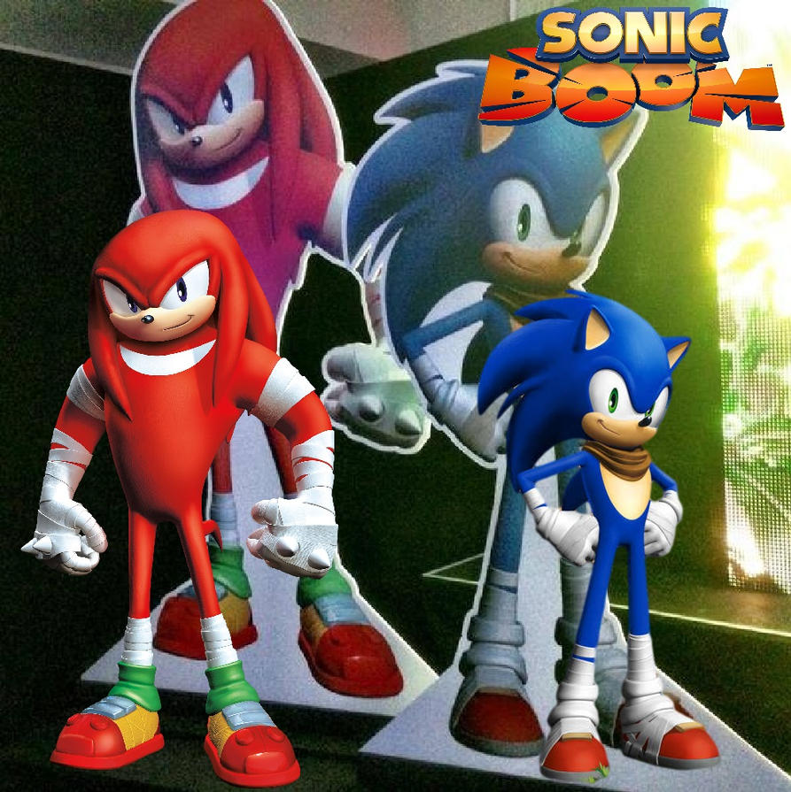 Sonic Boom - Sonic and Knuckles by Knuxy7789