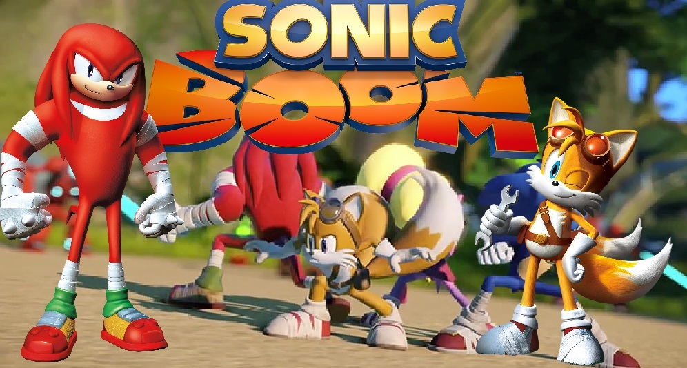 Sonic Boom Sticks Wallpaper