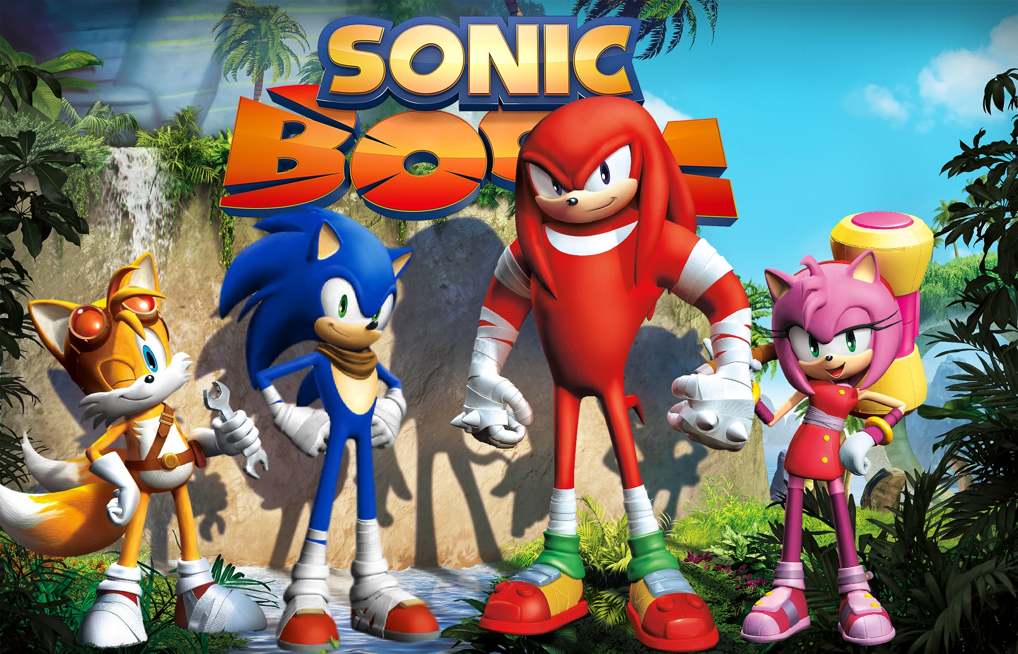 Sonic Boom Characters (remake) By Knuxy7789 On DeviantArt