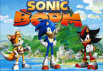 Sonic Boom - Tails, Sonic and Shadow