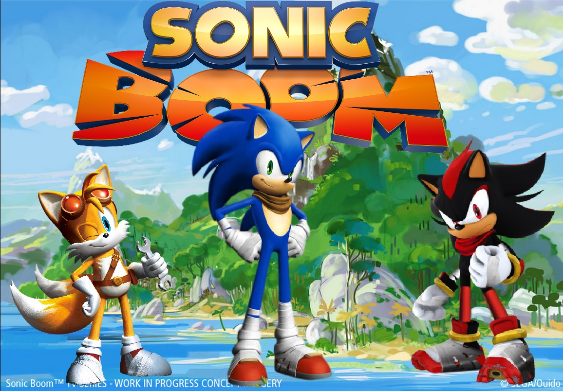 Sonic boom tails sonic and shadow by knuxy7789 on - Sonic boom shadow ...