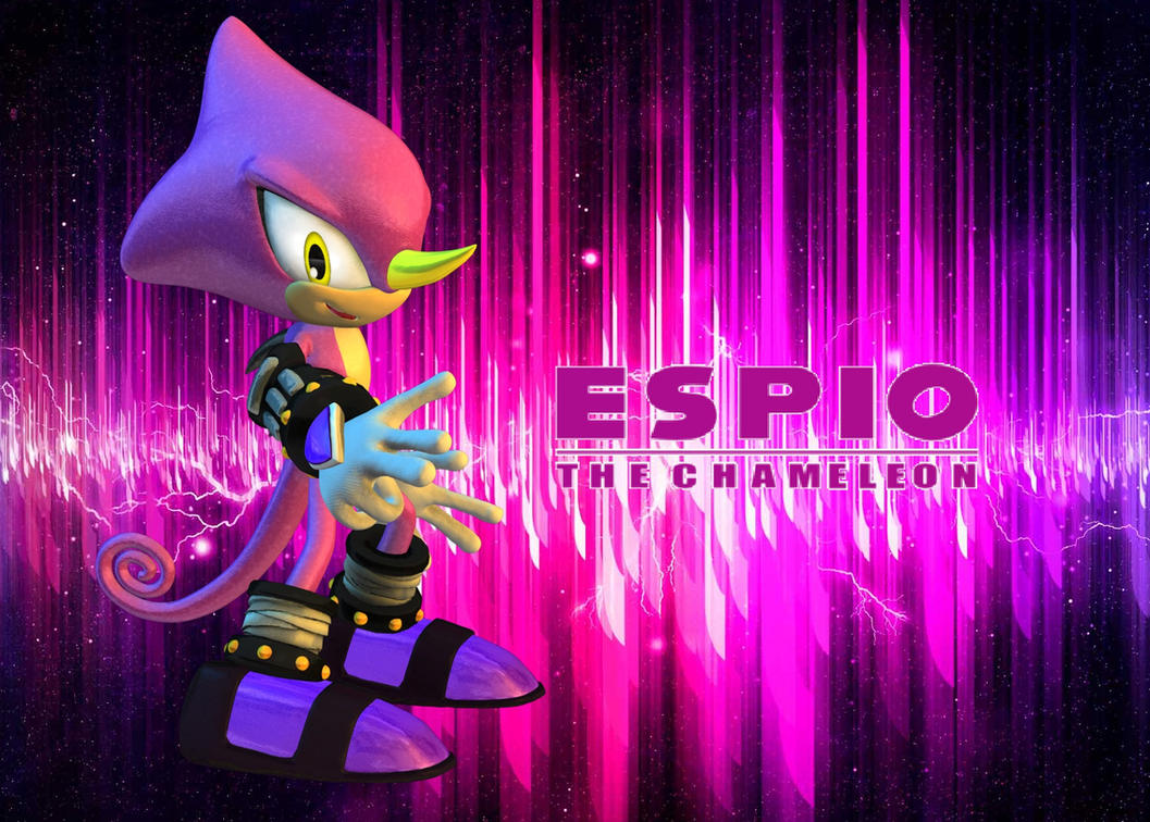 espio the chameleon wallpaper - photo #8