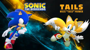 Sonic and Tails - Wallpaper