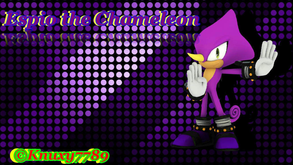 espio the chameleon wallpaper - photo #24