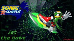 Sonic Riders - Jet the Hawk - Wallpaper