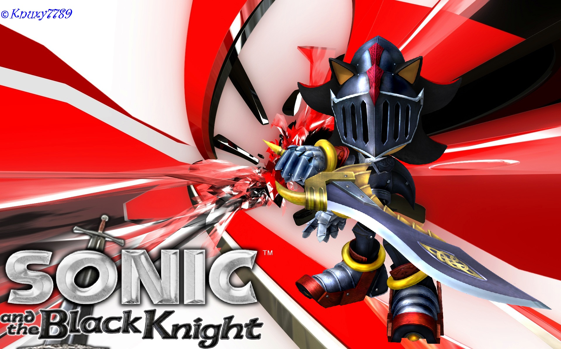Sonic And The Black Knight Sir Lancelot By Knuxy7789 On Deviantart