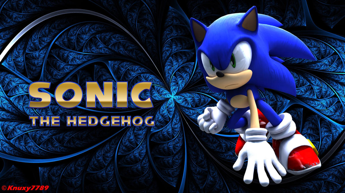 sonic the hedgehog wallpaper3 by knuxy7789 on deviantart
