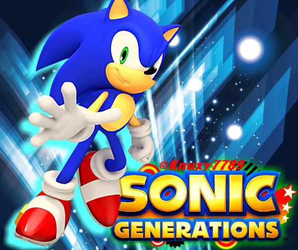 Sonic Generations Wallpaper Modern Sonic By Knuxy7789 On Deviantart