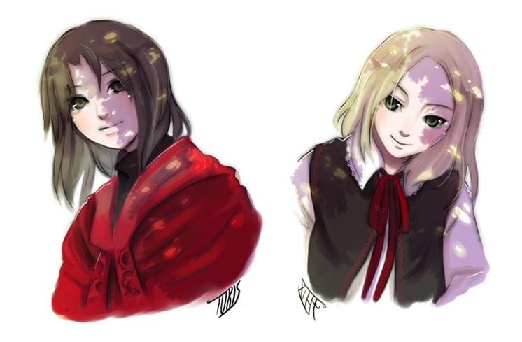 Toris and Felix by kyomitsu