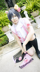 The boy in pink 2 by kyomitsu