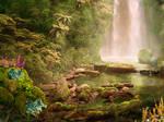 waterfall bottom