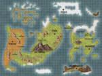 AAAFA: RWBY AU Remnant Map by Sir-Spoder