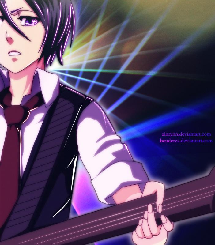 Kuchiki Rukia: Rockstar by xinrynn