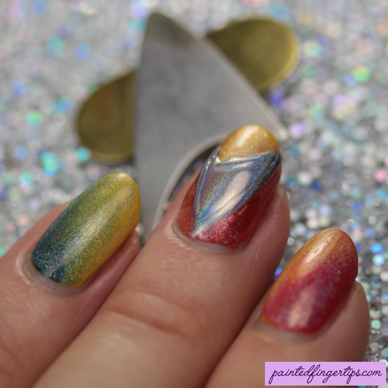 Star Trek Nail Art Symbol By Painted Fingertips On Deviantart