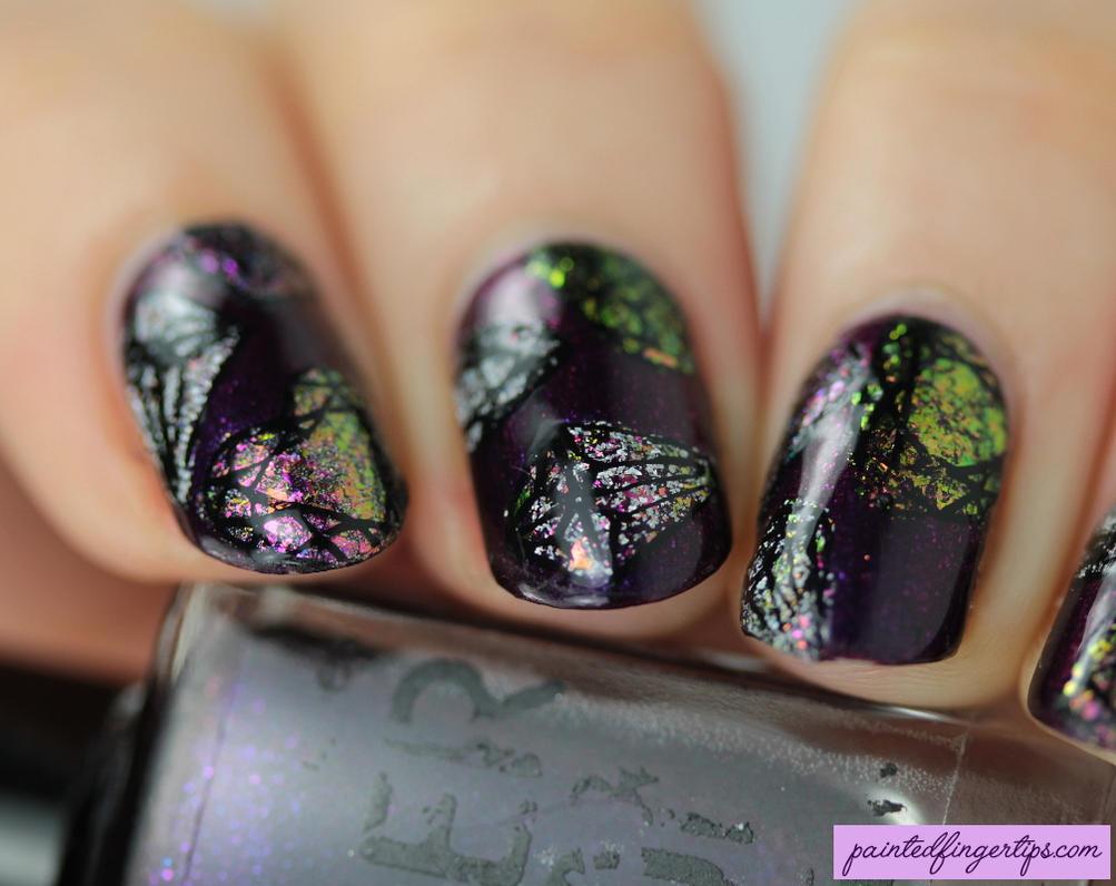 Gemstone Nail Art By Painted Fingertips On Deviantart