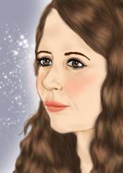 Blushing Hermione