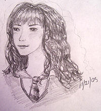 Hermione in Pencil