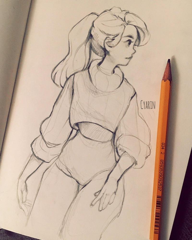 Little sketch by Cyarin